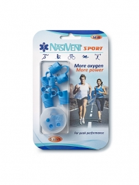 Nasivent Sports Starter set. 5 sizes Blauw
