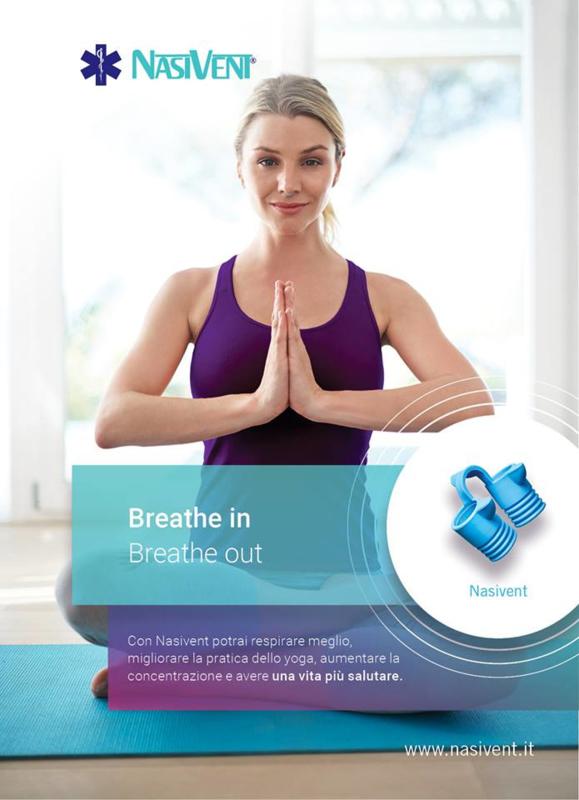Nasivent  Sport O2power Yoga kleur Roze 5 maten