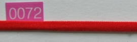 Rood elastiek band 5 mm breed