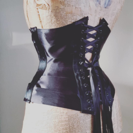 Longline ribbon corset