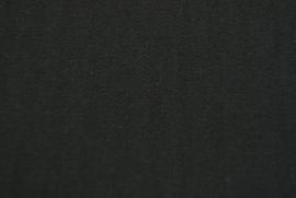 Coutil zwart soft 142 cm breed. (prijs per 50 cm.)