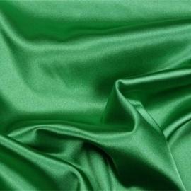 Satijn licht groen 150 cm. breed (prijs per 50 cm.)