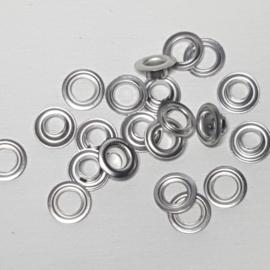 Prym nestelringen 5mm zilver per 10stuks