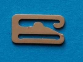 Schuif nude metaal 12 mm (set 4 stuks)
