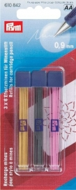 Prym vulpotlood navulling ( 3 kleuren)