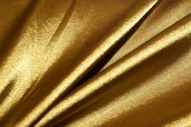 Satijn goud 150 cm. breed (prijs per 50 cm.)