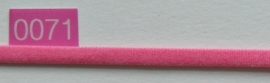 Roze elastiek band 5 mm breed