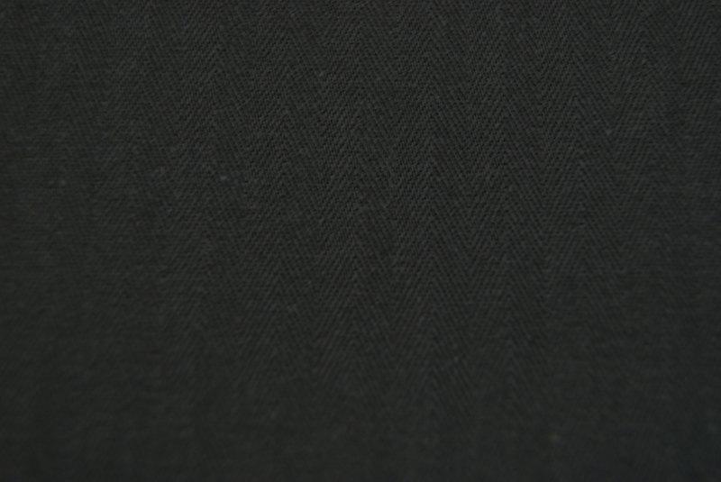 Coutil zwart 142 cm breed. (prijs per 50 cm.)