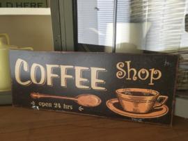 Reclamebord Coffee 3.