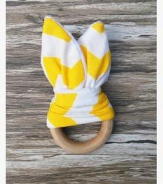 Wit- geel streep