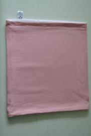 Effen col licht roze/ wit