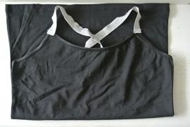 Dames hemdjes met zilver band