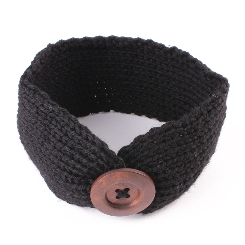 Head wrap zwart