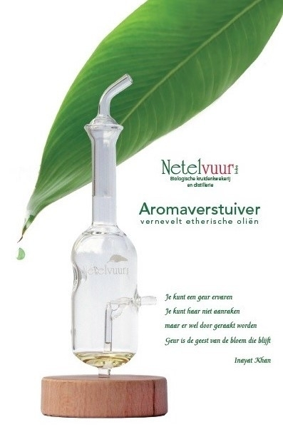 Glazen aromaverstuiver