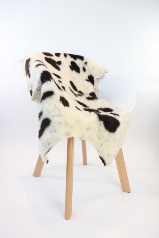 Bijzondere bonte schapenvacht - 120 CM