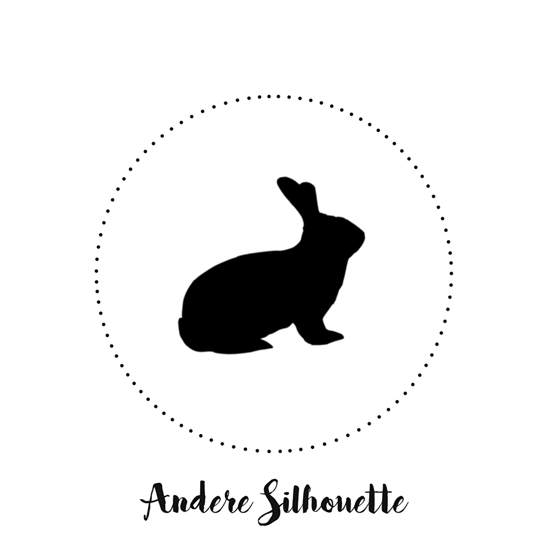 Andere silhouet