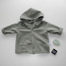 Extra stoer Hooded vest khaki