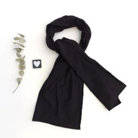 Lange Sjaal French terry kleur keus