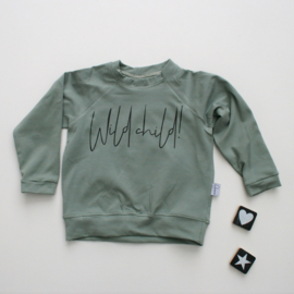 Sweater Dusty Khaki Wild child