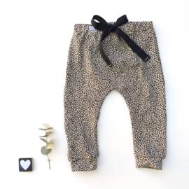 Legging/Broekje panter zand