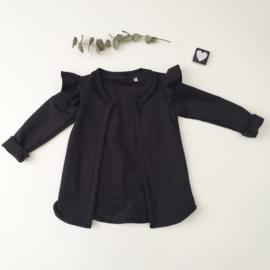 Vest Ruffels tricot Kleur keus