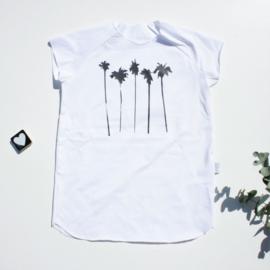 T-shirt raglan mouw Palm tree  Kleur keus