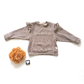 Big sweater ruffels stof keuze
