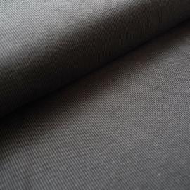 Rib zwart/grijs