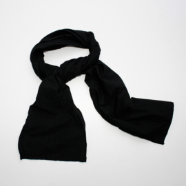 Lange Sjaal Tricot Black