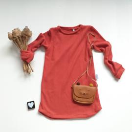 a-lijn jurk baby knit Kleurkeus