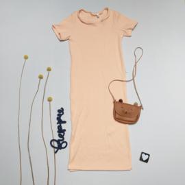 Maxi dress met mouw kleur keus