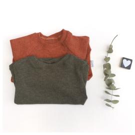 Sweater Jersey Rib kleur keus