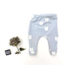 Legging/Broekje licht blauw schildjes