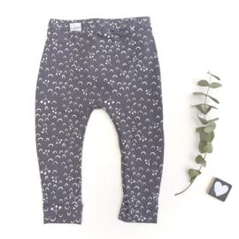 Legging/Broekje Blauw/grijs boogjes