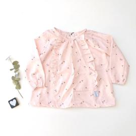 Rayon top Dandelions - Pink