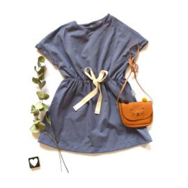 Summer dress jeanskleur