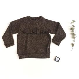 Sweater  gebreide stof Panter