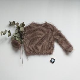 Furry trui