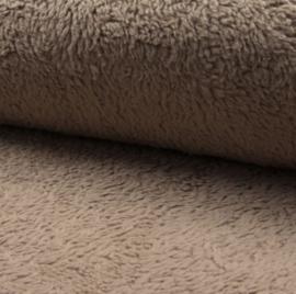 Katoenen teddy zand