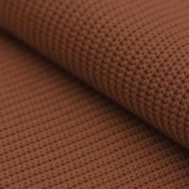 Big knit cognac