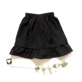 Skirt met geruffelde rand stof keuze