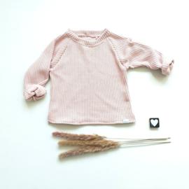 Trui big knit zacht roze