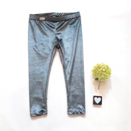 Legging/broekje Velours khaki