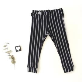 Stripes verticaal / horizontaal donker blauw grijs