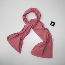 Lange Sjaal old pink