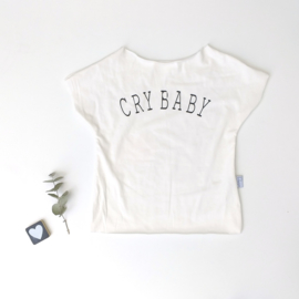 T-Shirt dusty taupe cry baby
