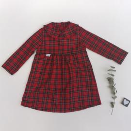 Blouse jurk Schotse ruit