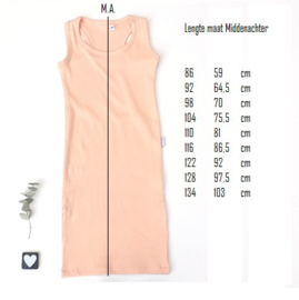 Maxi dress kleur keus