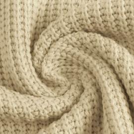 Big knit creme