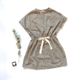 Summer dress panter zand